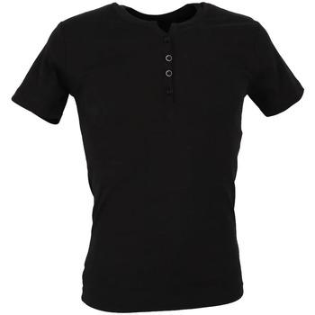 Textiel Heren T-shirts korte mouwen La Maison Blaggio  Zwart