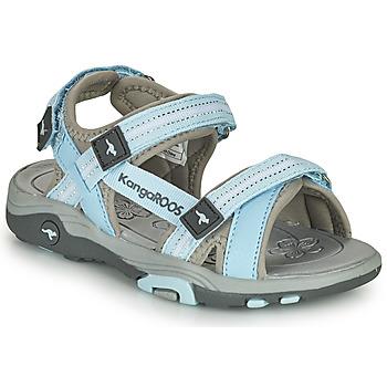 Schoenen Kinderen Sandalen / Open schoenen Kangaroos K-LENI Blauw / Grijs