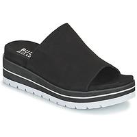 Schoenen Dames Leren slippers Bullboxer 078024F2T Zwart