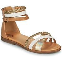 Schoenen Meisjes Sandalen / Open schoenen Bullboxer ALM013F1S-GOLD Brown