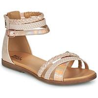 Schoenen Meisjes Sandalen / Open schoenen Bullboxer ALM013F1S-ROGO Roze