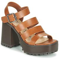 Schoenen Dames Sandalen / Open schoenen Emmshu DITA Cognac