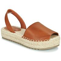 Schoenen Dames Sandalen / Open schoenen Emmshu LUZIA Cognac