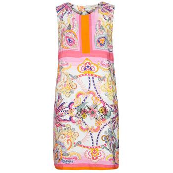 Textiel Dames Korte jurken Derhy SEOUL Roze / Multicolour