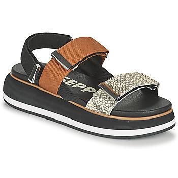 Schoenen Dames Sandalen / Open schoenen Gioseppo ELICOTT Zwart