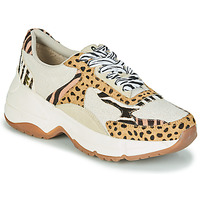 Schoenen Dames Lage sneakers Gioseppo FORMIA Wit / Leopard