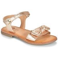 Schoenen Meisjes Sandalen / Open schoenen Gioseppo CLEBER Roze / Gold