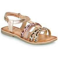 Schoenen Meisjes Sandalen / Open schoenen Gioseppo PALMYRA Roze / Gold