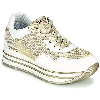 Schoenen Dames Lage sneakers IgI&CO ALMINTA Wit / Goud