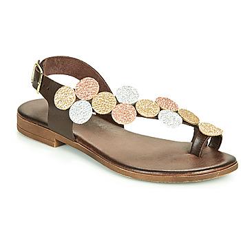 Schoenen Dames Sandalen / Open schoenen IgI&CO CROPPA Brown