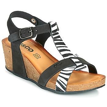 Schoenen Dames Sandalen / Open schoenen IgI&CO JOULIA Zwart / Wit