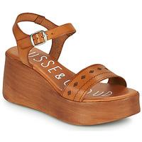 Schoenen Dames Sandalen / Open schoenen Musse & Cloud MILI Cognac