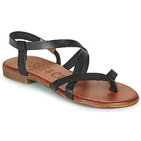 Schoenen Dames Sandalen / Open schoenen Musse & Cloud ESTELA Zwart