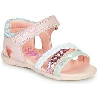 Schoenen Meisjes Sandalen / Open schoenen Pablosky KINNO Roze