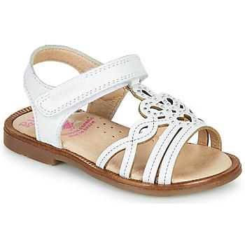 Schoenen Meisjes Sandalen / Open schoenen Pablosky MARIE Wit