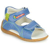 Schoenen Jongens Sandalen / Open schoenen Pablosky KINNI Blauw