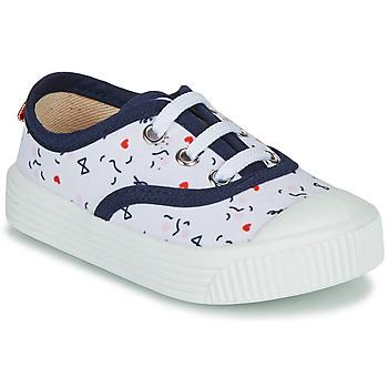 Schoenen Kinderen Lage sneakers Citrouille et Compagnie MY LOVELY TRAINERS Wit / Imprimé