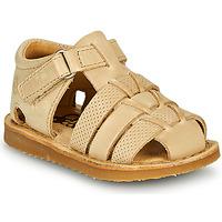 Schoenen Jongens Sandalen / Open schoenen Citrouille et Compagnie MISTIGRI Beige