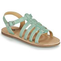 Schoenen Meisjes Sandalen / Open schoenen Citrouille et Compagnie MAYANA Turquoise
