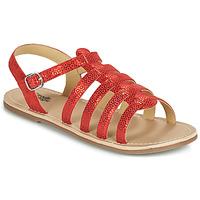 Schoenen Meisjes Sandalen / Open schoenen Citrouille et Compagnie MAYANA Rood