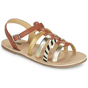 Schoenen Meisjes Sandalen / Open schoenen Citrouille et Compagnie MAYANA Tan