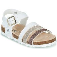 Schoenen Meisjes Sandalen / Open schoenen Citrouille et Compagnie OMAYA Wit