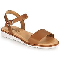Schoenen Meisjes Sandalen / Open schoenen Citrouille et Compagnie GLAPOTTI  camel