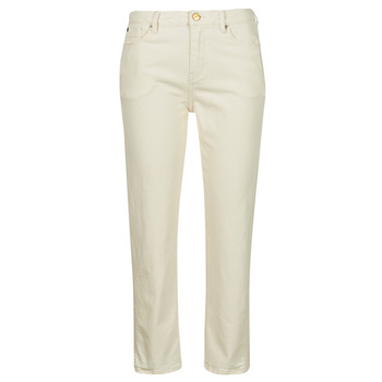 Textiel Dames Skinny jeans Pepe jeans DION 7/8 Ecru / Wi5