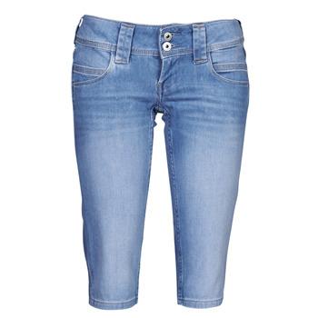 Textiel Dames Korte broeken Pepe jeans VENUS CROP Blauw