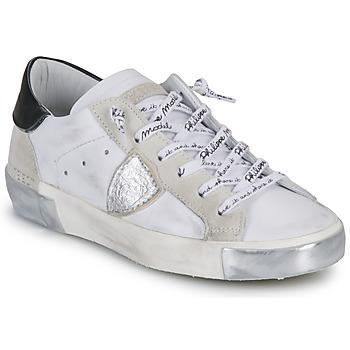 Schoenen Dames Lage sneakers Philippe Model PARIS Wit