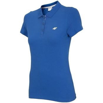 Textiel Dames Polo's korte mouwen 4F TSD007 Bleu