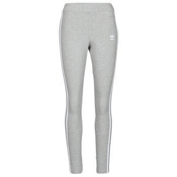 Textiel Dames Leggings adidas Originals 3 STRIPES TIGHT Grijs