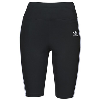 Textiel Dames Leggings adidas Originals HW SHORT TIGHTS Zwart
