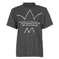 Textiel Dames T-shirts korte mouwen adidas Originals TEE Zwart