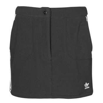 Textiel Dames Rokken adidas Originals FLEECE SKIRT Zwart