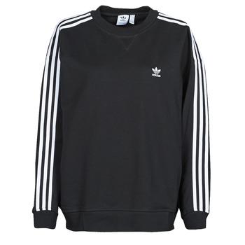 Textiel Dames Sweaters / Sweatshirts adidas Originals OS SWEATSHIRT Zwart