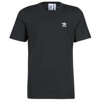 Textiel Heren T-shirts korte mouwen adidas Originals ESSENTIAL TEE Zwart