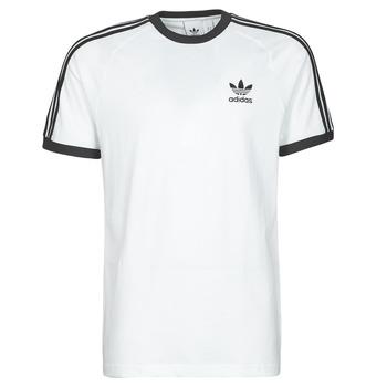 Textiel Heren T-shirts korte mouwen adidas Originals 3-STRIPES TEE Wit