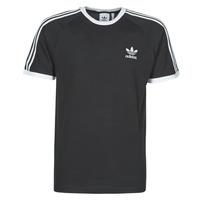 Textiel Heren T-shirts korte mouwen adidas Originals 3-STRIPES TEE Zwart