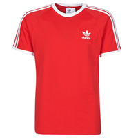 Textiel Heren T-shirts korte mouwen adidas Originals 3-STRIPES TEE Rood