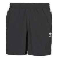 Textiel Heren Zwembroeken/ Zwemshorts adidas Originals 3-STRIPE SWIMS Zwart