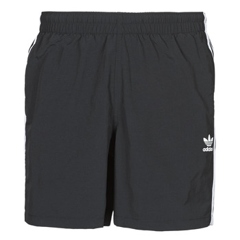 Textiel Heren Zwembroeken/ Zwemshorts adidas Originals 3-STRIPE SWIMS Zwart