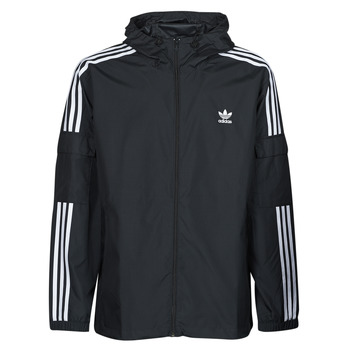 Textiel Heren Windjacken adidas Originals 3-STRIPES WB FZ Zwart