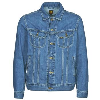 Textiel Heren Spijker jassen Lee LEE RIDER JACKET Blauw