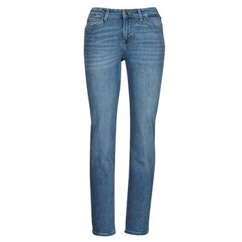 Textiel Dames Straight jeans Lee MARION STRAIGHT Blauw