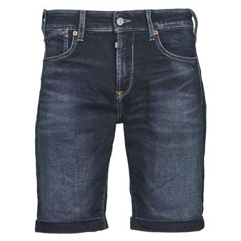 Textiel Heren Korte broeken / Bermuda's Le Temps des Cerises JOGG BERMUDA Blauw / Zwart