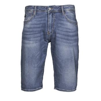 Textiel Heren Korte broeken / Bermuda's Le Temps des Cerises JOGG BERMUDA Blauw