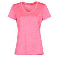 Textiel Dames T-shirts korte mouwen Under Armour TECH SSV Roze