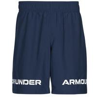 Textiel Heren Korte broeken / Bermuda's Under Armour UA WOVEN GRAPHIC WM SHORT Blauw