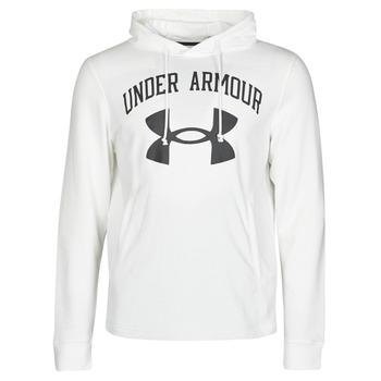 Textiel Heren Sweaters / Sweatshirts Under Armour UA RIVAL FLEECE BIG LOGO HD Wit
